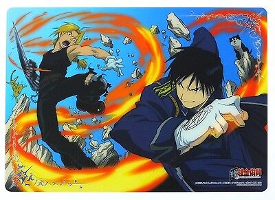 Fullmetal Alchemist Clear Plate Poster mini shitajiki pencil board Japan 5