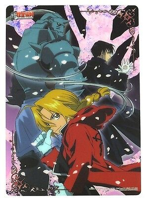 Fullmetal Alchemist Clear Plate Poster mini shitajiki pencil board Japan 4