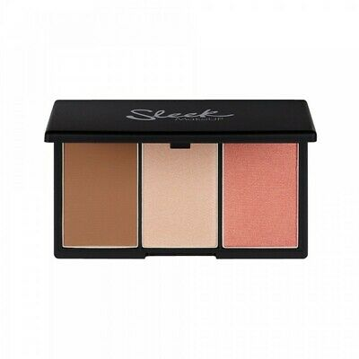 Sleek Make Up Makeup Ultimate Highlight Face Powder Form Contour Kit -  Light