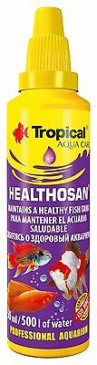 Tropical Healthosan, Fish Health Care, Preparation Maintains A Healthy Fish Tank