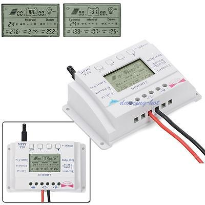 LCD MPPT Intelligent Multipurpose Three-Time Auto Solar Charger Controller DH