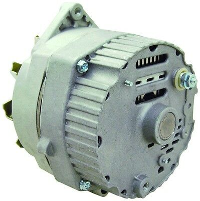 New Alternator Replaces Delco 10SI IR/EF 3 Wire System 63 Amp W/ V Drive Pulley