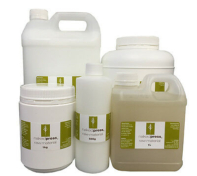 Aloe Vera Gel - Paraben-Free - 500ml, 1L, 5L, pumps