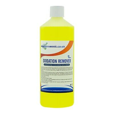 Oxidation Remover & Cleaning Solution fluid for Ultrasonic Cleaner (1Ltr)