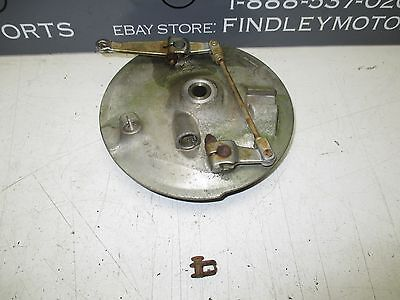1980 Yamaha XS400 Special front duel leading brake plate 1L9-25026-00-38