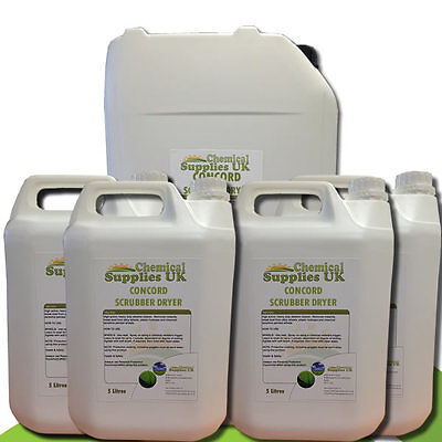 Scrubber Dryer Fluid Degreaser Concord Size Variations, CSUK