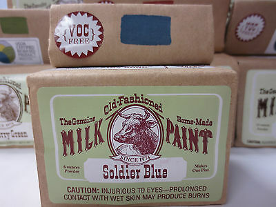 THE GENIUNE OLD-FASHIONED HOME-MADE MILK PAINT - ALL COLORS Pint/Quart