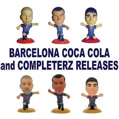 BARCELONA MicroStars - Coca Cola and Completerz Choice of 6 different Figures