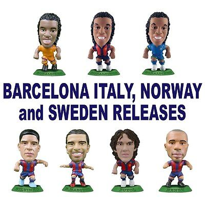 BARCELONA MicroStars - Italy, Norway and Sweden Release Choice of 8 different