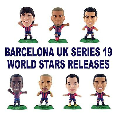BARCELONA MicroStars - UK Series 19 - World Stars Choose from 7 different figure