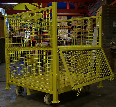 01 - Stillages - Steel Cages- With Wheels - 1 Cage For $595-