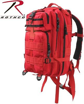 Red First Aid Medical Level 3 Medium Transport MOLLE Assault Back pack 2977 #1