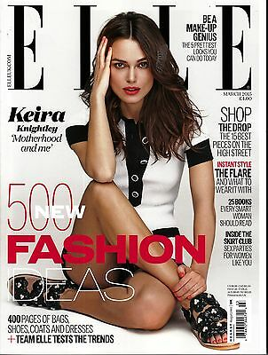 ELLE UK March 2015 KEIRA KNIGHTLEY Colin Firth ALEXANDRA TOMLINSON Lorde @NEW@