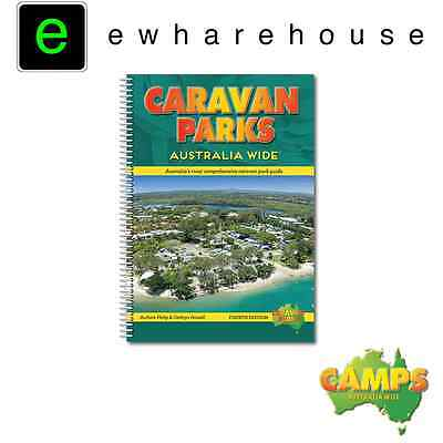 CARAVAN PARKS AUSTRALIA WIDE  GPS COORDINATES & LISTED FACILITIES *4th EDITION*