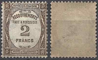 France Timbre Taxe N°62 - Neuf ** Avec Gomme D'origine - Cote 335€