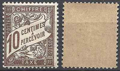 France Timbre Taxe N°29 Neuf ** Luxe Gomme D'origine Mnh