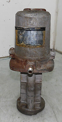 Fuji Coolant Pump, VKP043A-4Z, 3 PH Induction Motor, 40 W, Used, WARRANTY