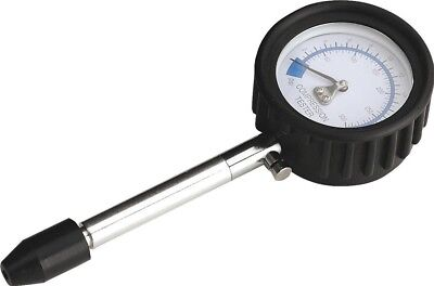 Sealey Compression Tester Push-On Type with Straight Stem