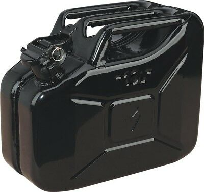 Sealey Jerry Can 10ltr - Black