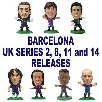 BARCELONA MicroStars - UK Series 2, 8, 11 and 14 Choose from 10 figures