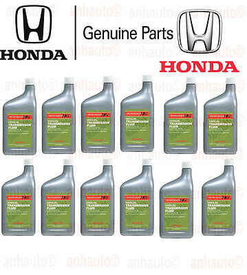 12-Quarts Genuine Honda Manual Transmission Fluid