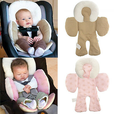 New Soft Kid Stroller Pram Pushchair Two Sided Seat Cushion Body Safe Pad Liner