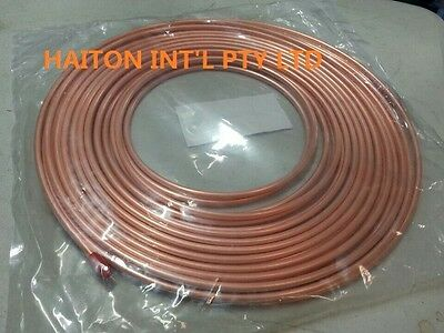 """copper pancake coil  1/2"""" x 10M roll,air conditioning pipe tube"""