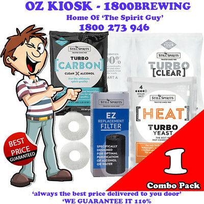 Heat Turbo Yeast - Heatwave Combo Pack @ $23.99