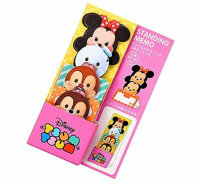 Standing Memo - Tsum Tsum Minnie❤Disney Store Japan ❤Stationary Donald Chip Dale