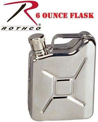 Silver Stainless Steel Jerry Can Flask  643