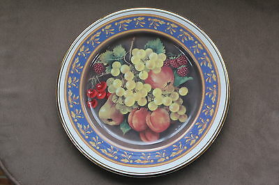 FENTON CHINA  - Large PLATE  -  Delicatessen Collection  -  GRAPES