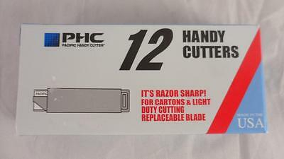 NEW Box of 12 PHC Handy Cutters 000230 1 Dozen