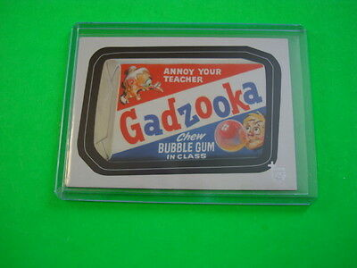 """2013 TOPPS 75TH ANNIVERSARY POP CULTURE """"WACKY PACKAGES"""" BASE CARD #46"""