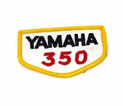 NOS Vintage Yamaha 350 Patch - Street Dirt Motocross Motorcycle 70's 80's