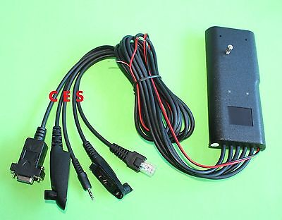 New 5 IN 1 Programming Cable HKN9857 For Motorola Radios