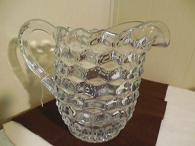 AMERICAN FOSTORIA PITCHER PERFECT  LARGE ICE LIP 7 + INCHES