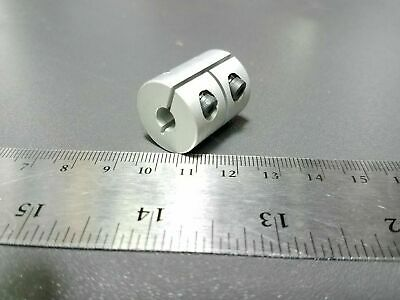 4mm x 5mm Rigid Shaft Coupler CNC Stepper Servo DC Motor Coupling Clamp Prusa