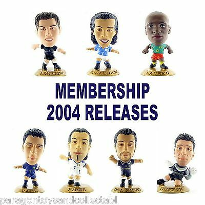 UK MEMBERSHIP 2004 MicroStars - Choice of 7 different Gold base