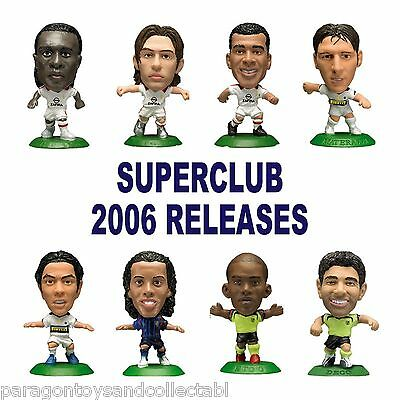 UK SUPERCLUB 2006 MicroStars - Choice of 8 different figures