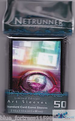 Android Netrunner Card Sleeves Deck Protectors *pop-Up* From Cyber Exodus Mtg