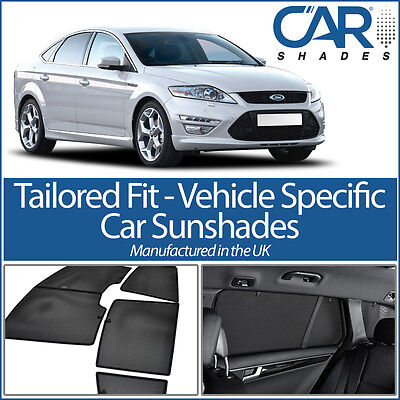 Set Car Shades compatible with Ford Mondeo 5 doors 2014