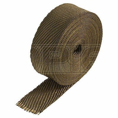 "HeatShield Lava Exhaust Wrap - 2"" x 50ft Thermal Insulation Roll - Single"