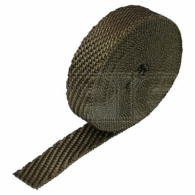 "HeatShield Lava Exhaust Wrap - 1"" x 25ft Thermal Insulation Roll - Single"