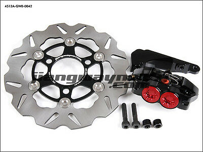ZOOMER RUCKUS Dio ZX Elite S DD50 GY6 125 - Gemini Caliper ø220mm Disc Brake Kit