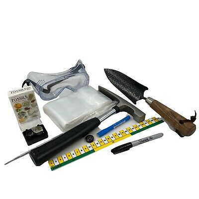 Fossil Hunting Starter Kit - Geological Tools - Geology ✔Quality ✔UK Seller