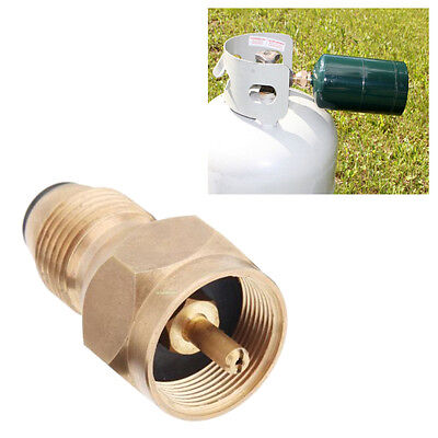 1 LB Propane Tank Refill Adaptor For BBQ Fisher Campers Climbing Travel Party