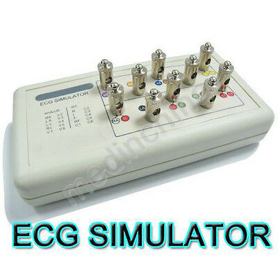 Newest Version Arrhythmia EKG ECG HOLTER Patient Trainer SIMULATOR 12 Leads