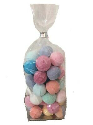 50 Mini Bath Bombs from CHIKPE - Chill Pills / Marbles, wedding favour gift