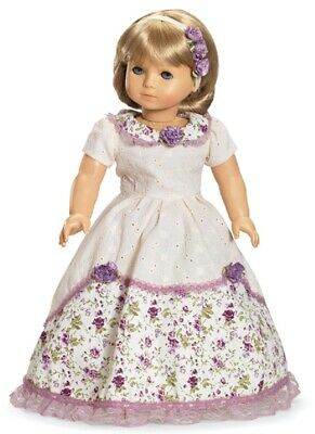 "Doll Clothes AG 18"" Dress Victorian by Carpatina Made For American Girl Dolls"