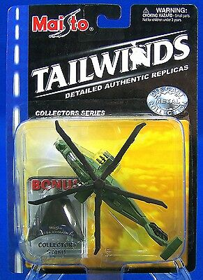 RAH-66 Comanche 2001 Maisto Tailwinds US Army Military Helicopter Die Cast Model